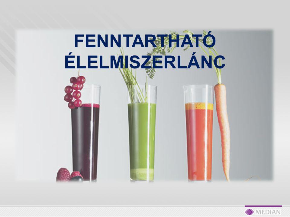 FENNTARTHATÓ ÉLELMISZERLÁNC