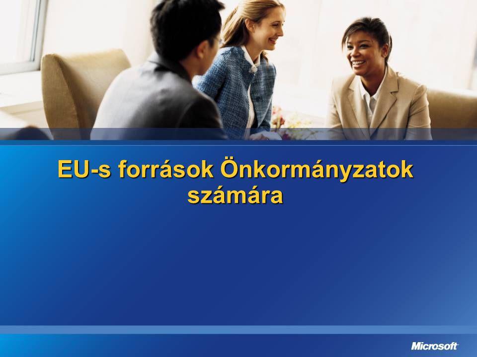 EU-s források Önkormányzatok számára
