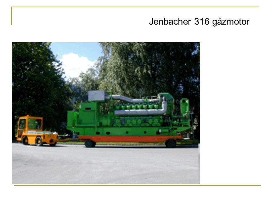 Jenbacher 316 gázmotor