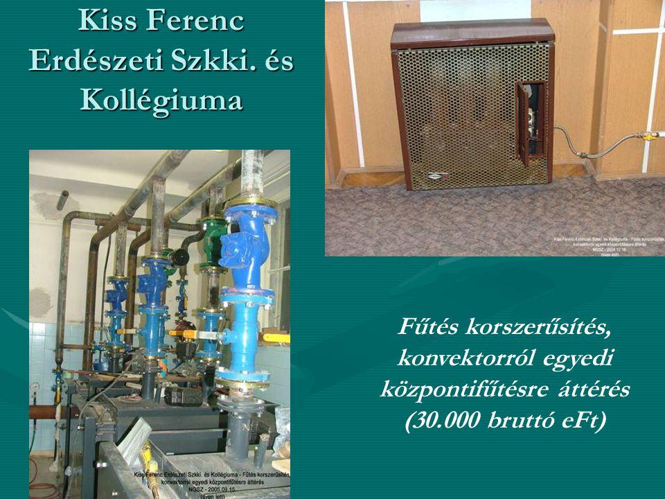 Kiss Ferenc Erdészeti Szkki.