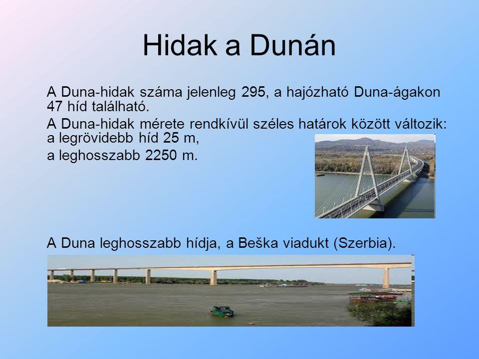 Nemzeti parkok A Dunát sok, Európa más folyóival összehasonlítva viszont viszonylag kevés környezeti kár érte, élővilága nagyrészt megmaradt.