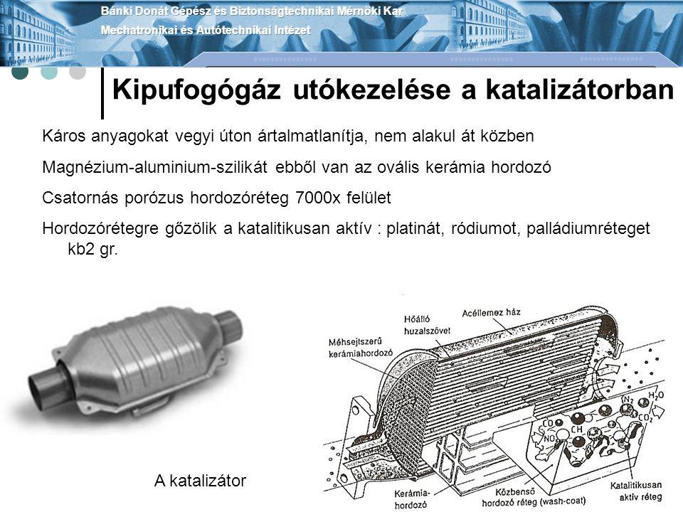 Részecskeszűrő Dízel motorok emissziójának csökkentése