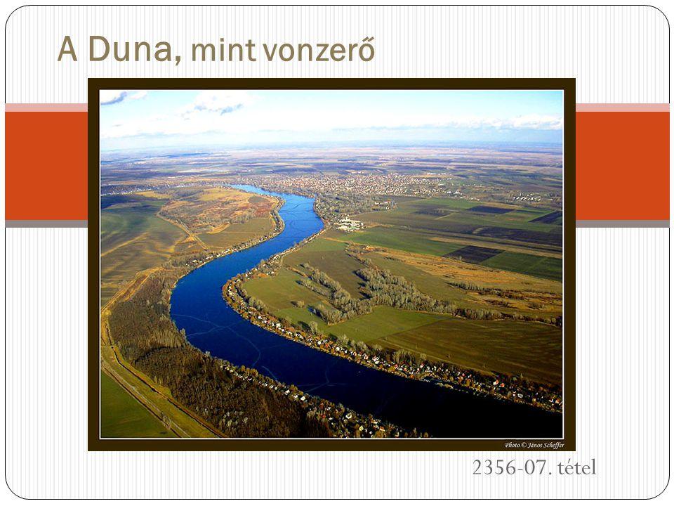 Általános információk A Duna a második leghosszabb folyam Európában.