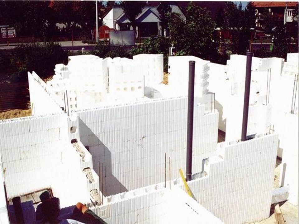 Külső fal alapozás
