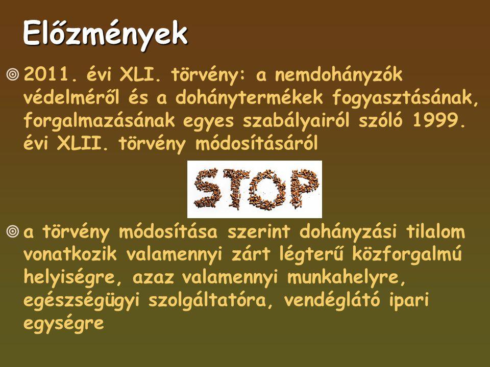 Előzmények  2011. évi XLI.