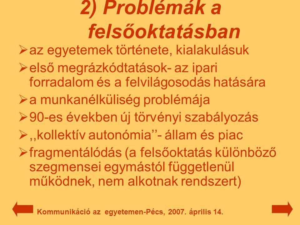 Köszönöm szépen, hogy meghallgatták az előadásom! Kommunikáció az egyetemen-Pécs, 2007. április 14.