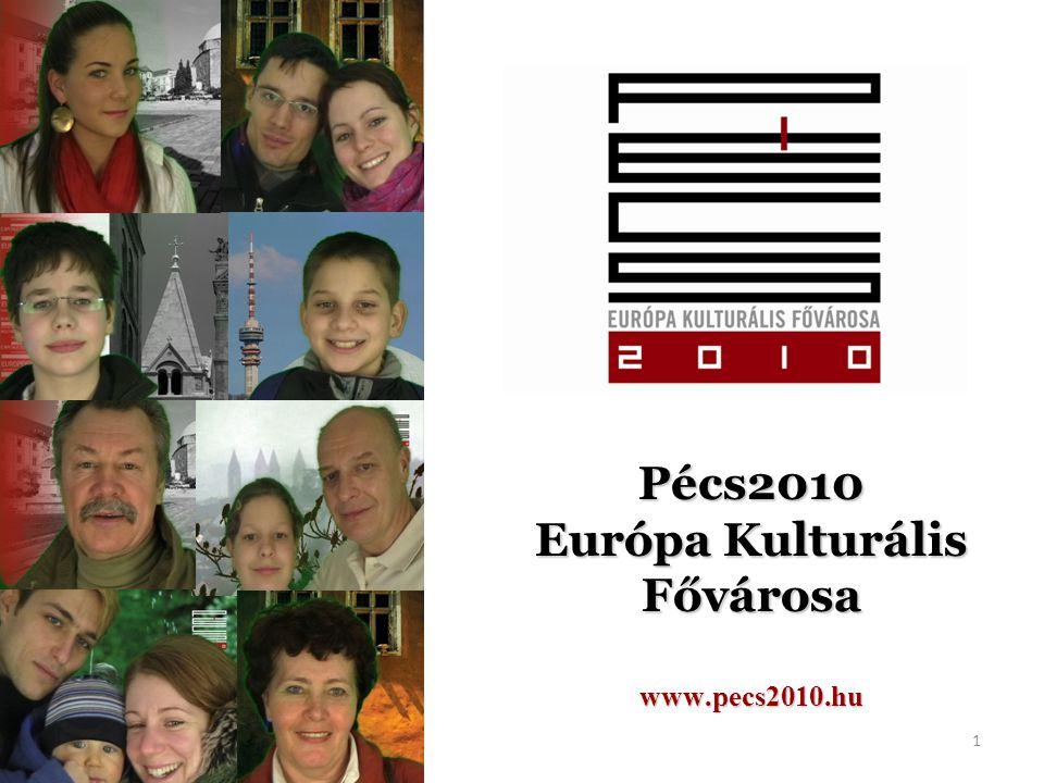 Pécs2010 Európa Kulturális Fővárosa www.pecs2010.hu 1