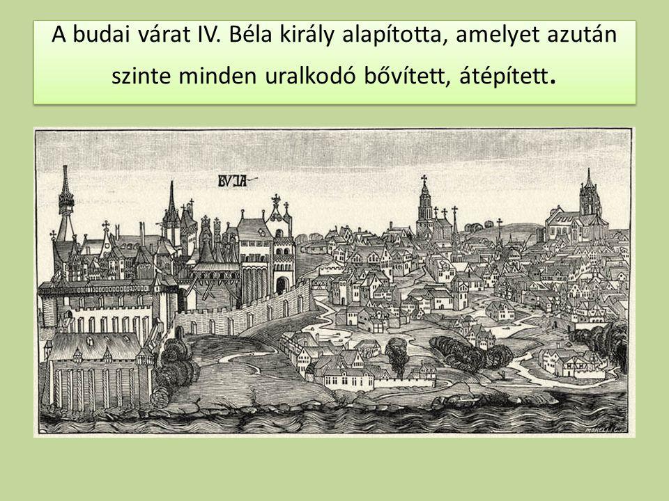 A budai várat IV.