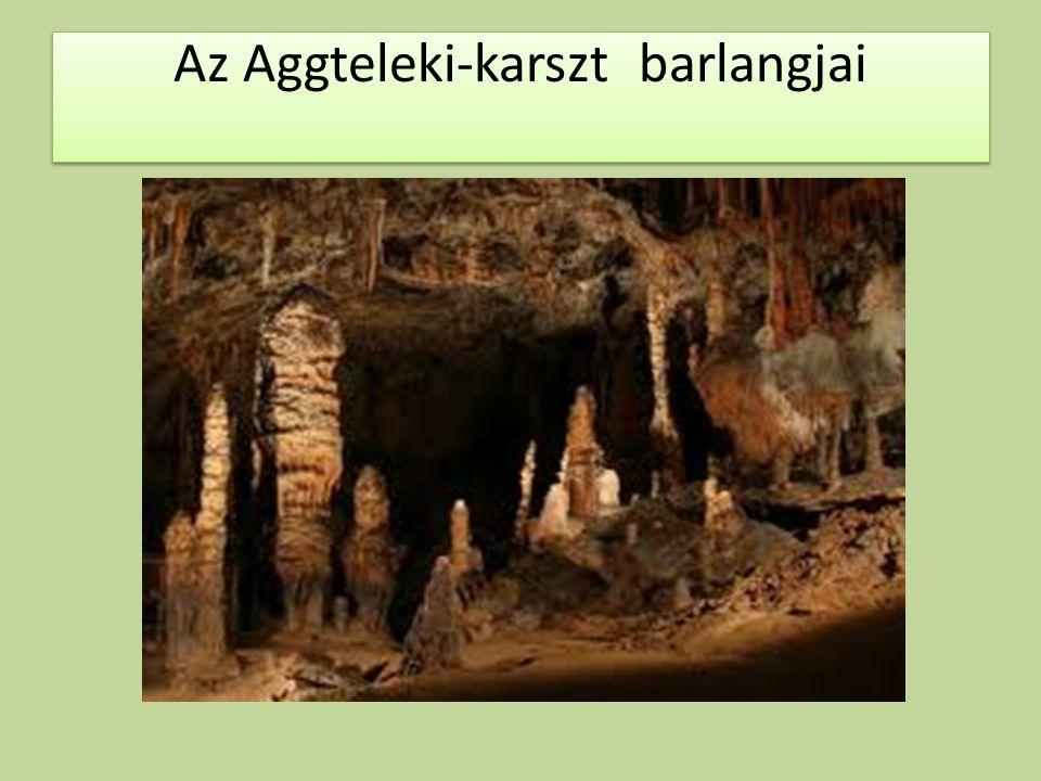 Az Aggteleki-karszt barlangjai