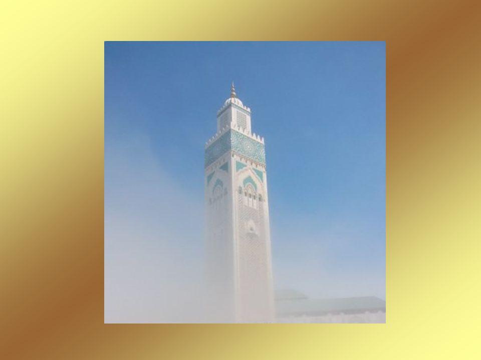 Minaret du Mosquée Hassan II - Casablanca