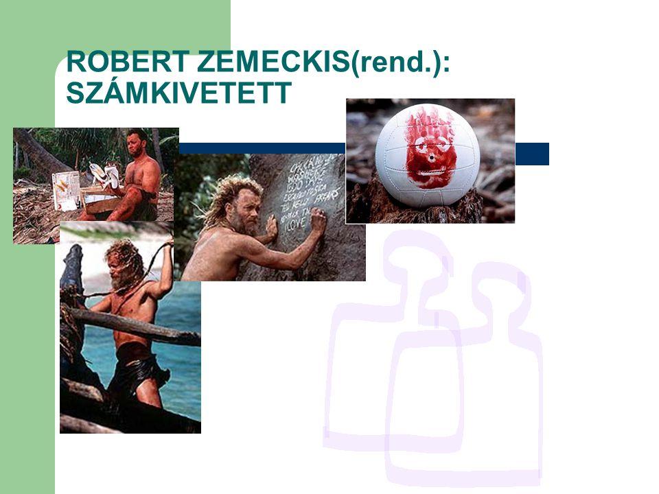 ROBERT ZEMECKIS(rend.): SZÁMKIVETETT