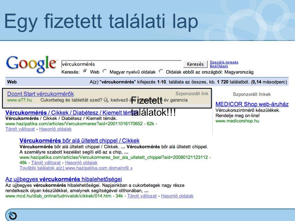 Vertikális keresők ๏ Relevánsabb találatok ๏ Rendszerezett meta információ ๏ Tudatosabb felhasználók