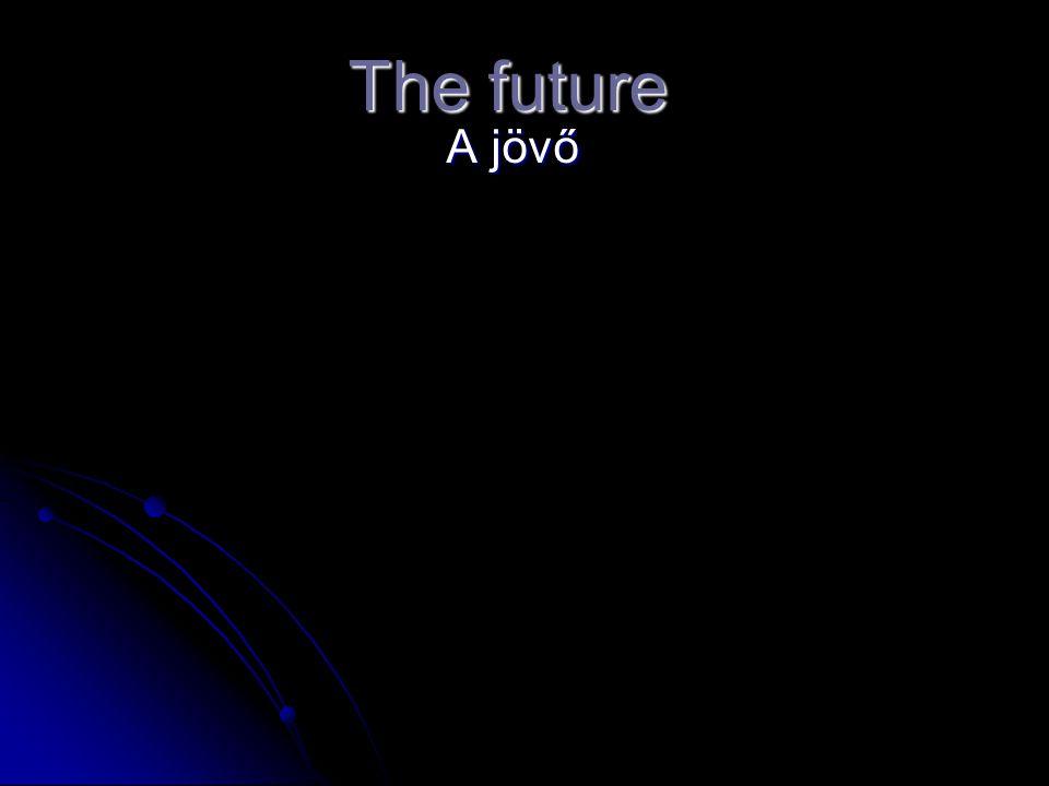 Bevezetés a jövőbe A jövőben számos új technológia lesz elérhető az emberiség számára.
