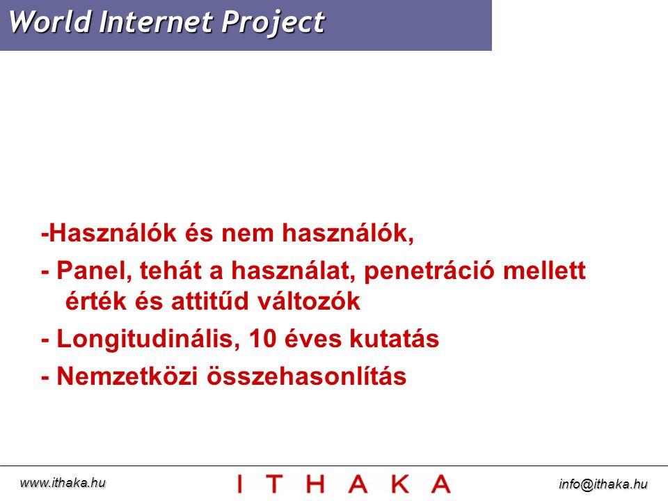 """""""Az Internet használatával az Önhöz hasonló emberek nagyobb politikai befolyásra tehetnek szert www.ithaka.hu info@ithaka.hu"""