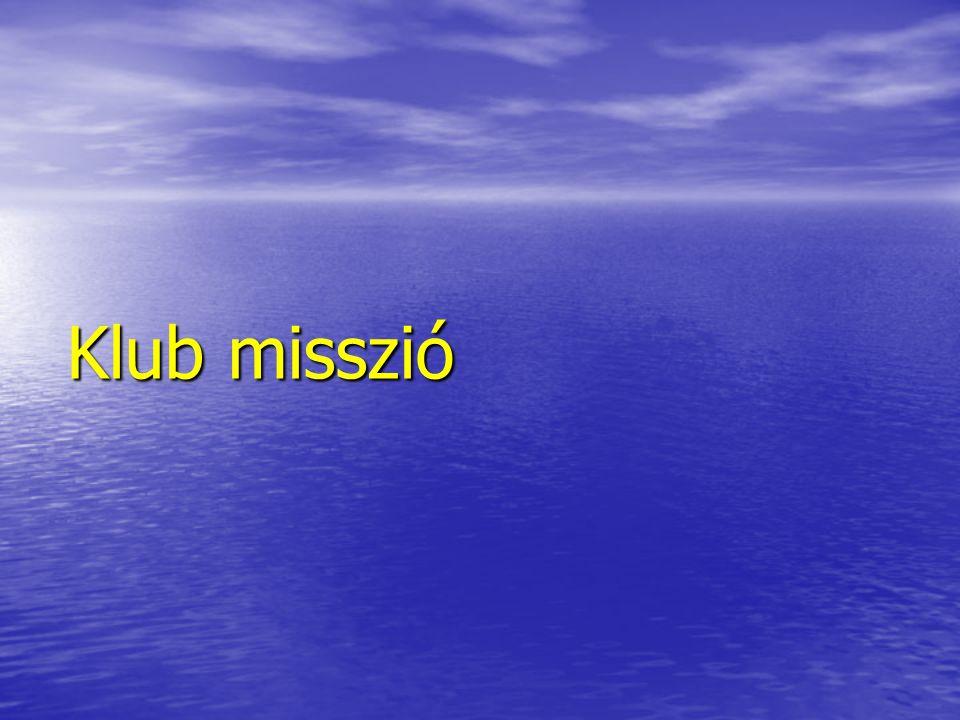 Klub misszió