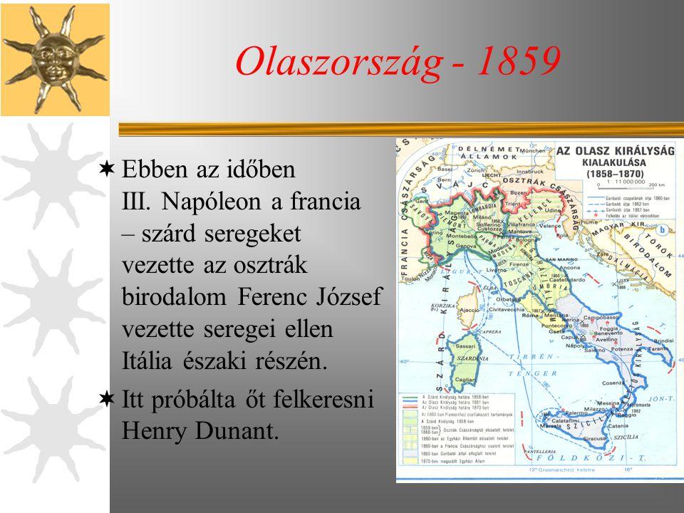 Dunant és az üzleti ügyek – Teljes csőd – Veszteségek  Dunant-nak 1867-ben nemzetközi sikerei csúcsán, csődbe mentek algériai vállalkozásai.