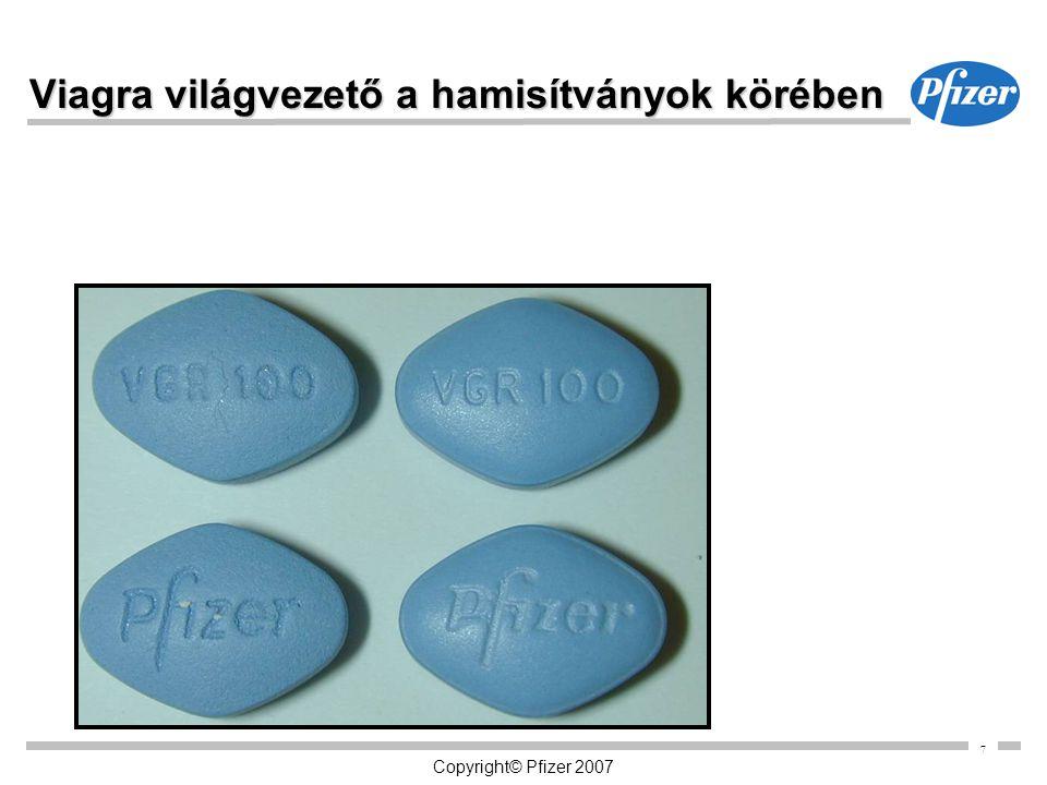 7 Viagra világvezető a hamisítványok körében