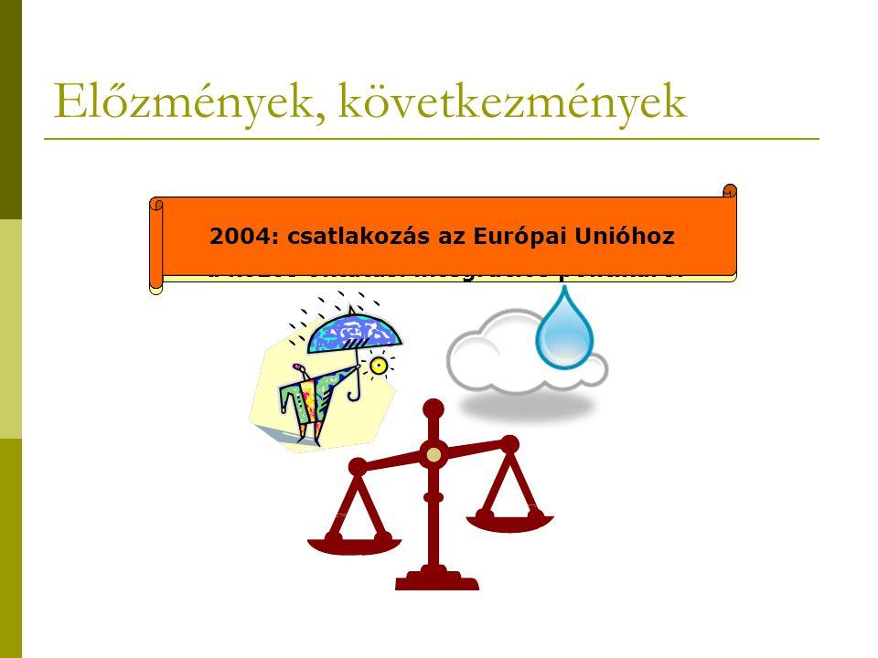 Előzmények, következmények 1990: a Miniszterek Tanácsa határozatot fogadott el a közös oktatási integrációs politikáról 1993: a Közoktatási törvény paragrafusaiban fellelhető az együttnevelés csírája 2003: a Fogyatékos Emberek nemzetközi éve 2003: a Közoktatási törvény karakteres integrációs, együttnevelési törekvéseket fogalmaz meg 2004: csatlakozás az Európai Unióhoz