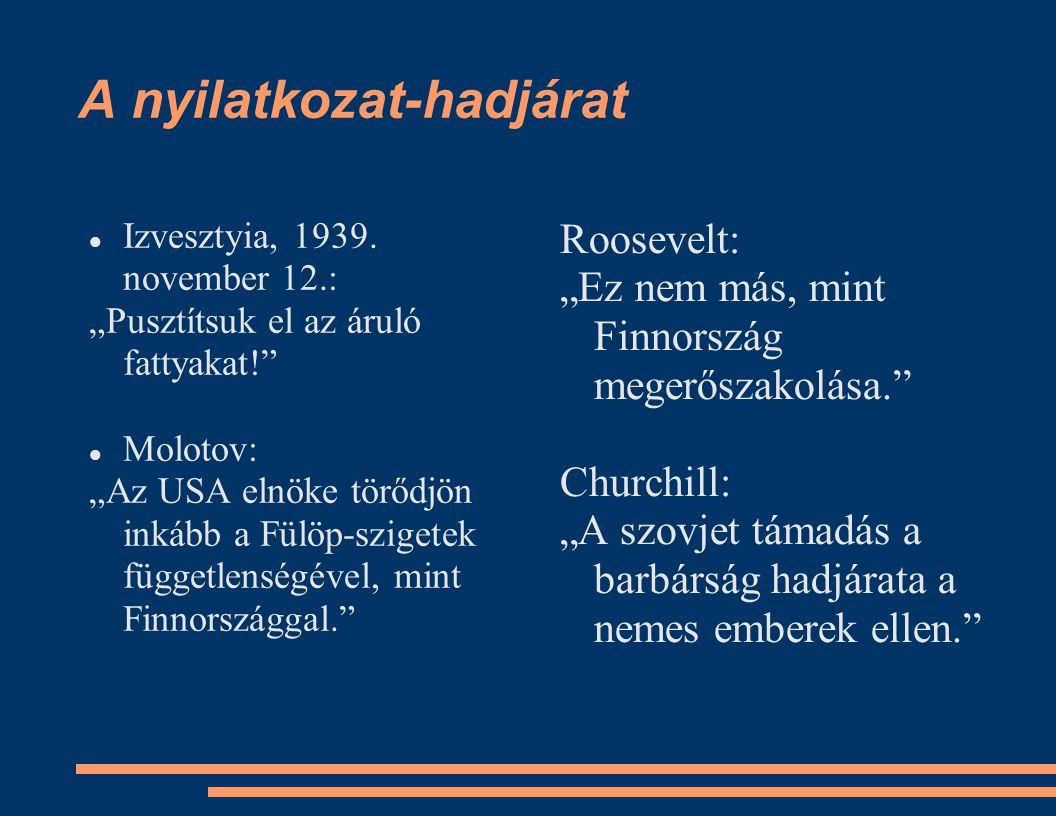 A nyilatkozat-hadjárat Izvesztyia, 1939.