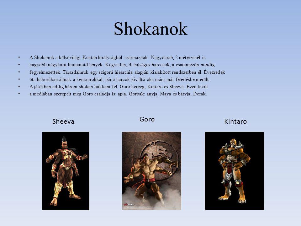 Shokanok A Shokanok a külsővilági Kuatan királyságból származnak. Nagydarab, 2 méteresnél is nagyobb négykarú humanoid lények. Kegyetlen, de hűséges h