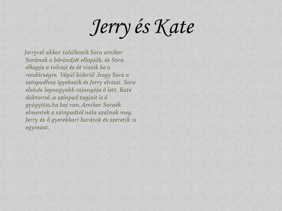 Jerryvel akkor találkozik Sora amikor Sorának a bőröndjét ellopják, és Sora elkapja a tolvajt és őt viszik be a rendőrségre. Végül kiderül,hogy Sora a