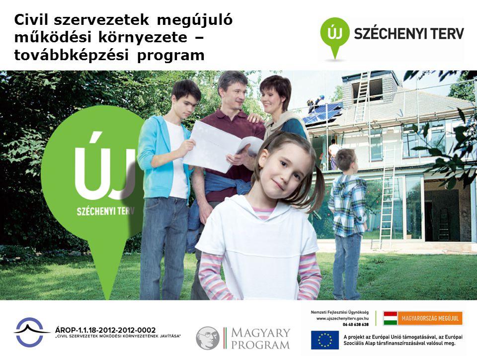 Civil szervezetek megújuló működési környezete – továbbképzési program