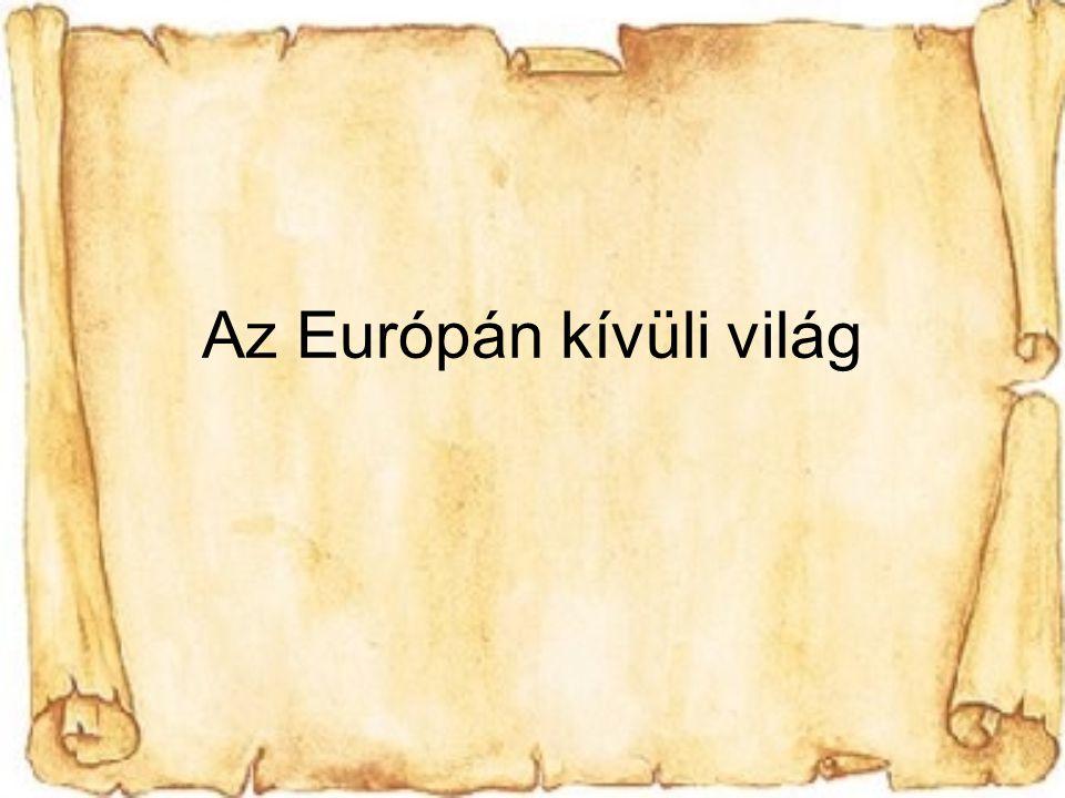 Az Európán kívüli világ
