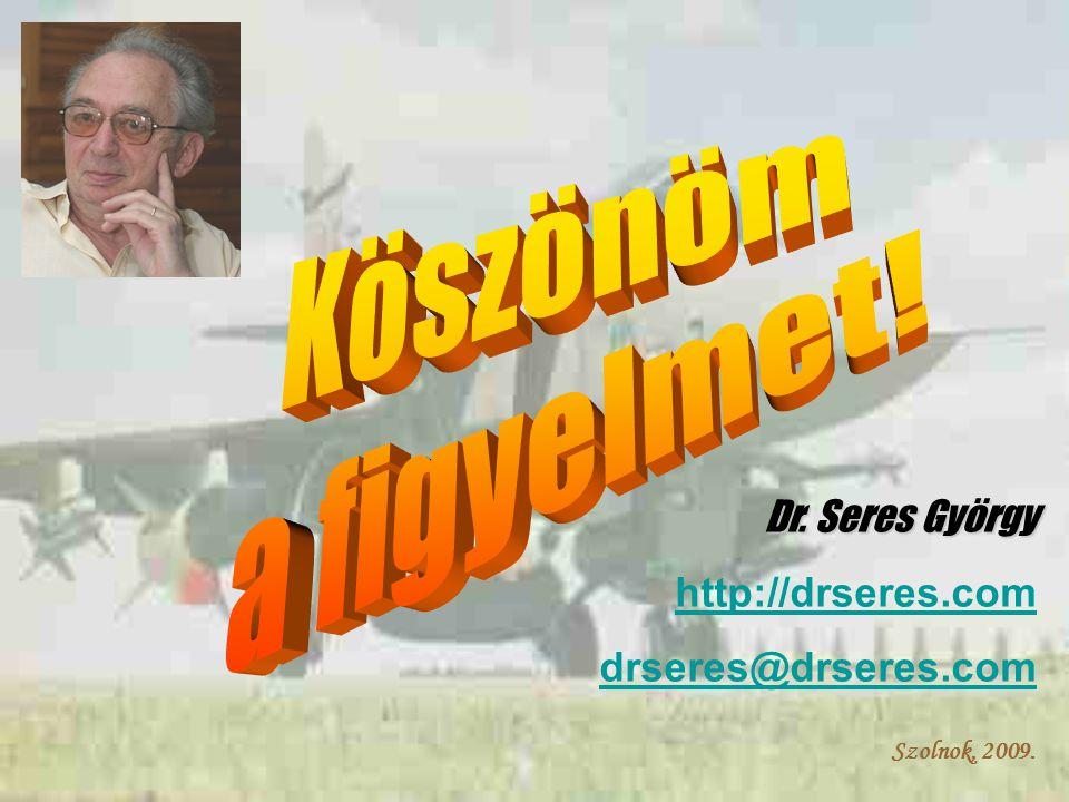 Szolnok, 2009. Dr. Seres György http://drseres.com drseres@drseres.com