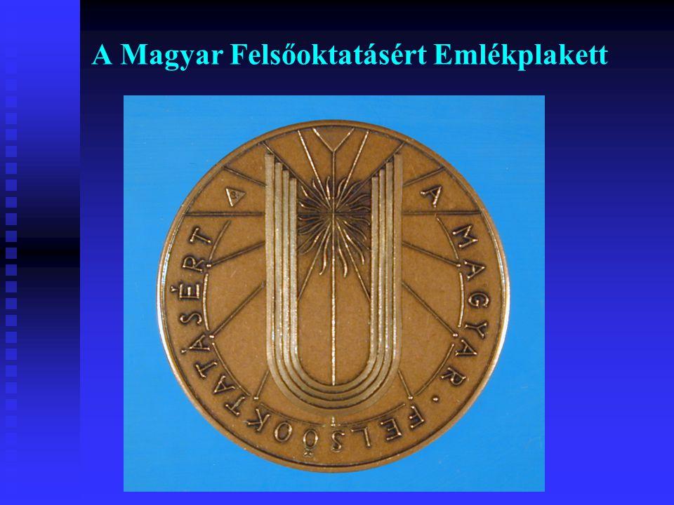 A Magyar Felsőoktatásért Emlékplakett