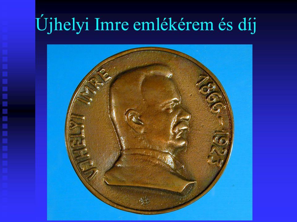 Újhelyi Imre emlékérem és díj
