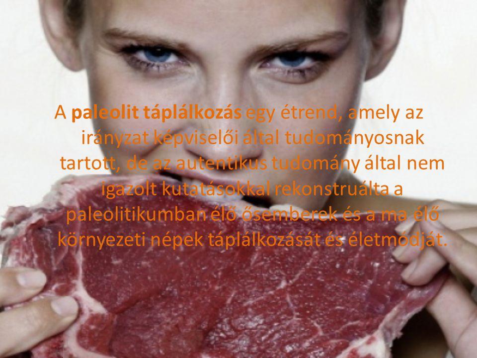 Evolúciós szempontú étrendnek is nevezhető, mert evolúciós szempontból vizsgálta meg ember és táplálkozás ill.