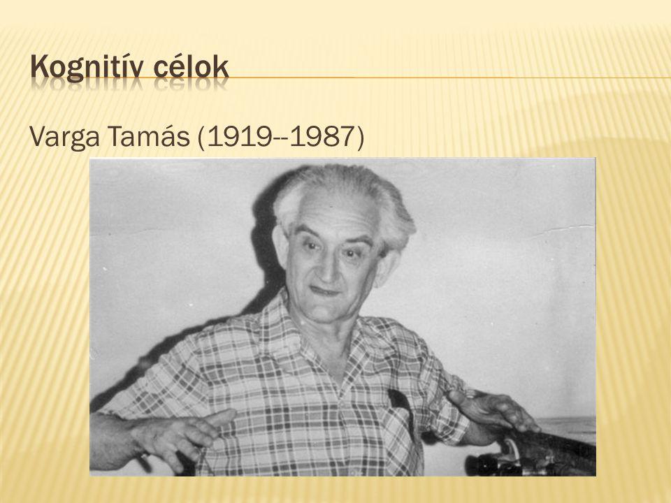 Varga Tamás (1919--1987)