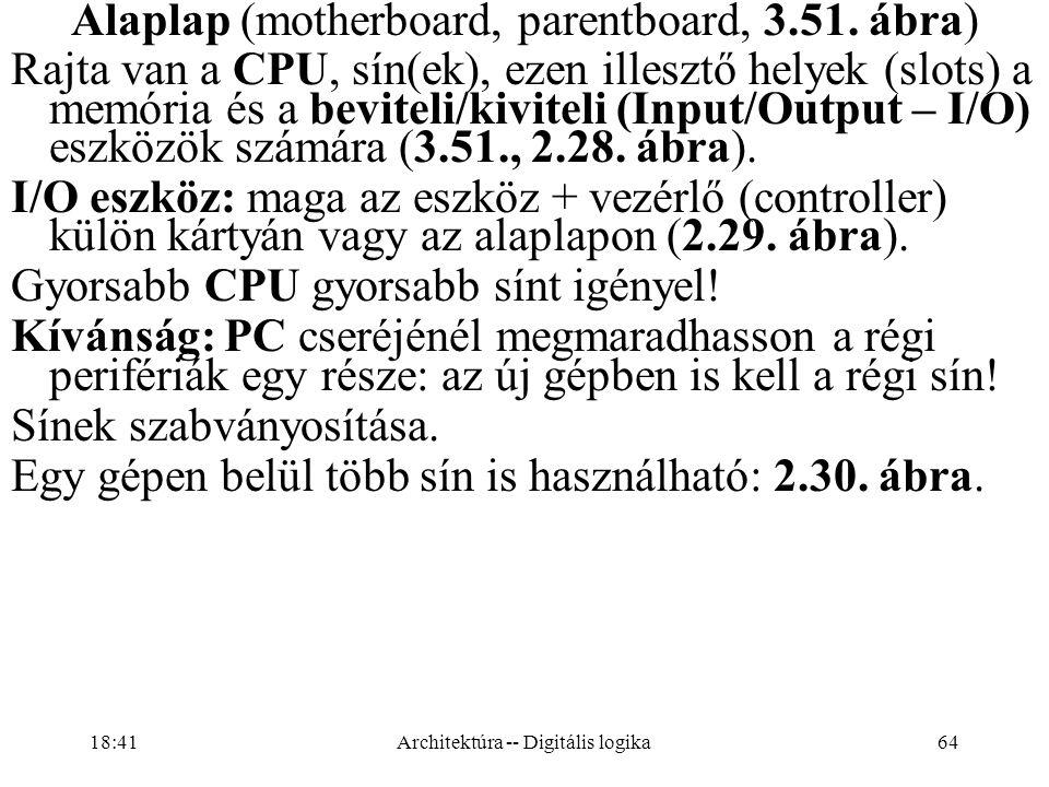 64 Alaplap (motherboard, parentboard, 3.51.