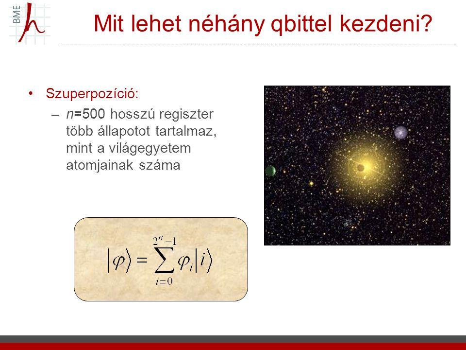 2014.07. 07.7 A kvantummechanika Posztulátumai, avagy, ahogy az apró dolgok működnek 1.