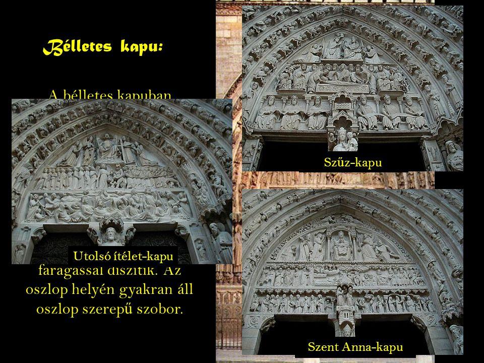 Rózsa ablak: A rózsaablak vagy ablakrózsa a román és gótikus templomokon a f ő bejárat fölött, ritkábban az oldalbejáratok fölött elhelyezked ő, nagyméret ű, küll ő s szerkezet ű ablak.