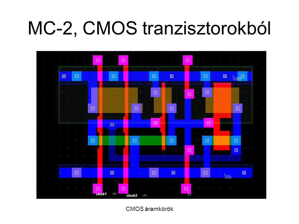 CMOS áramkörök MC-2, CMOS tranzisztorokból