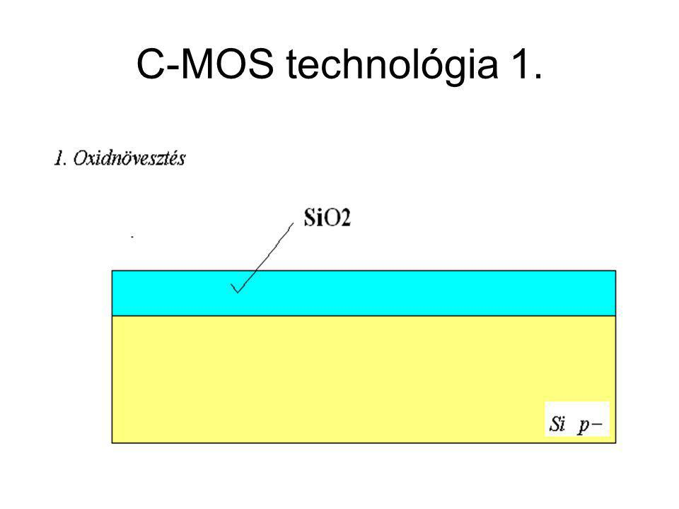 CMOS áramkörök C-MOS technológia 1.