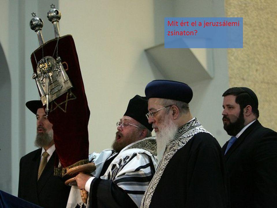 Mit ért el a jeruzsálemi zsinaton?