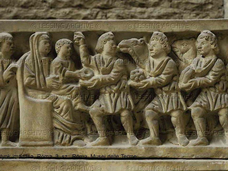 Királyok imádása, Róma, 3. sz. Róma, Musei delle Terme