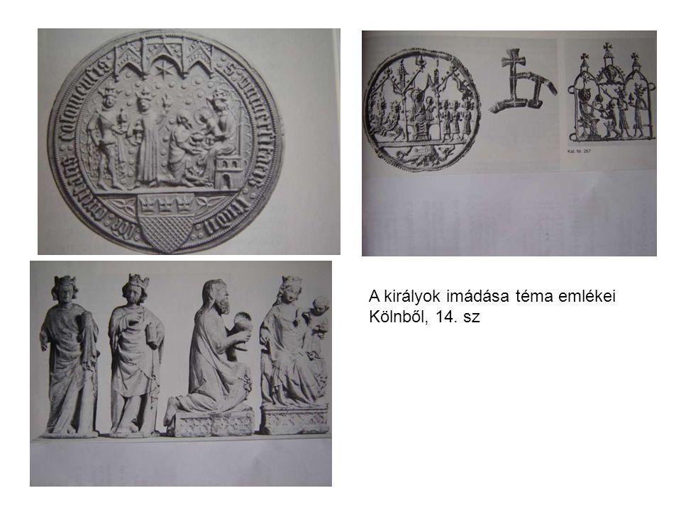 A királyok imádása téma emlékei Kölnből, 14. sz