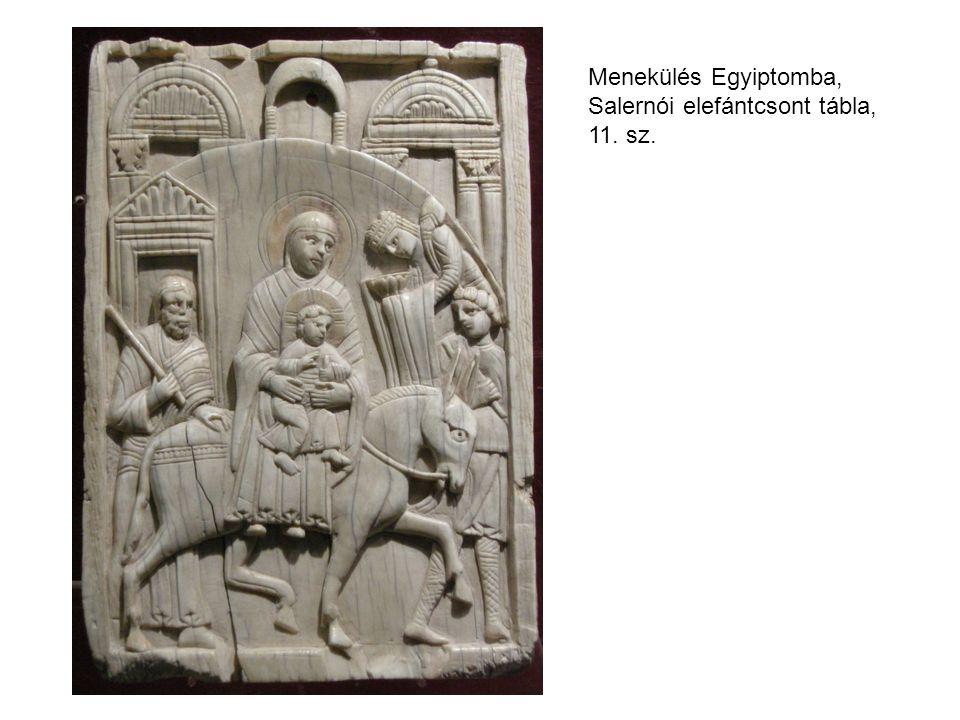 Menekülés Egyiptomba, Salernói elefántcsont tábla, 11. sz.