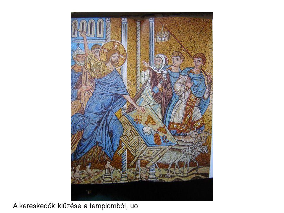 A kereskedők kiűzése a templomból, uo