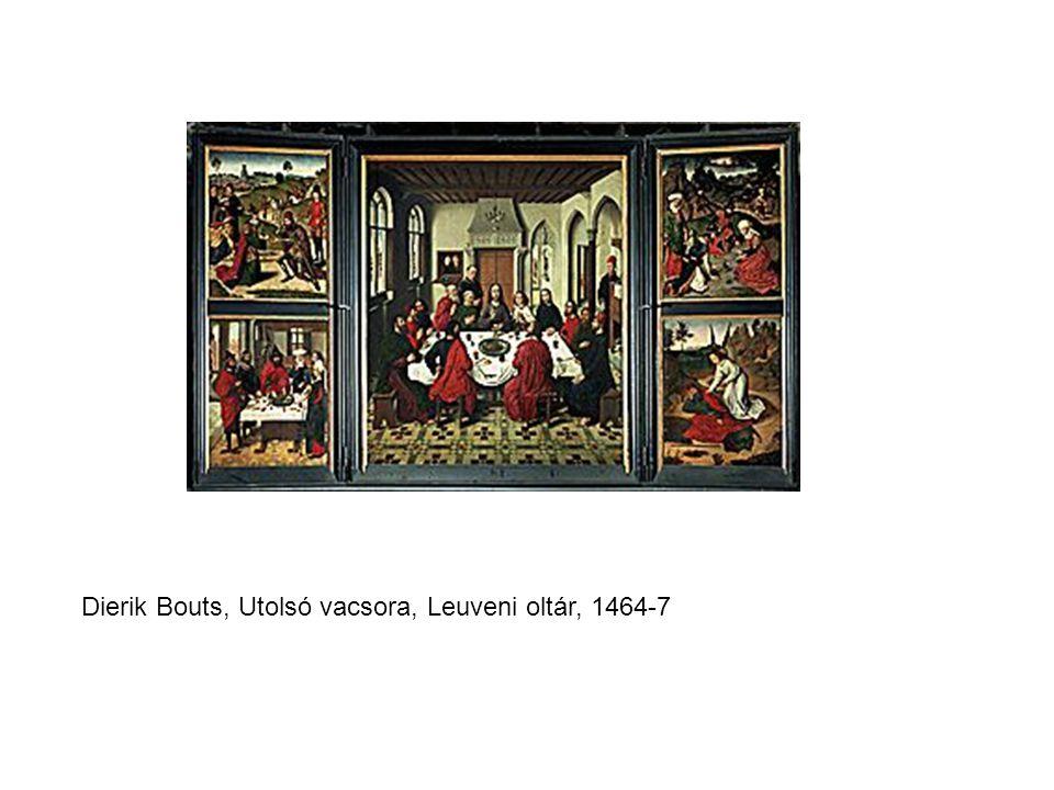 Dierik Bouts, Utolsó vacsora, Leuveni oltár, 1464-7