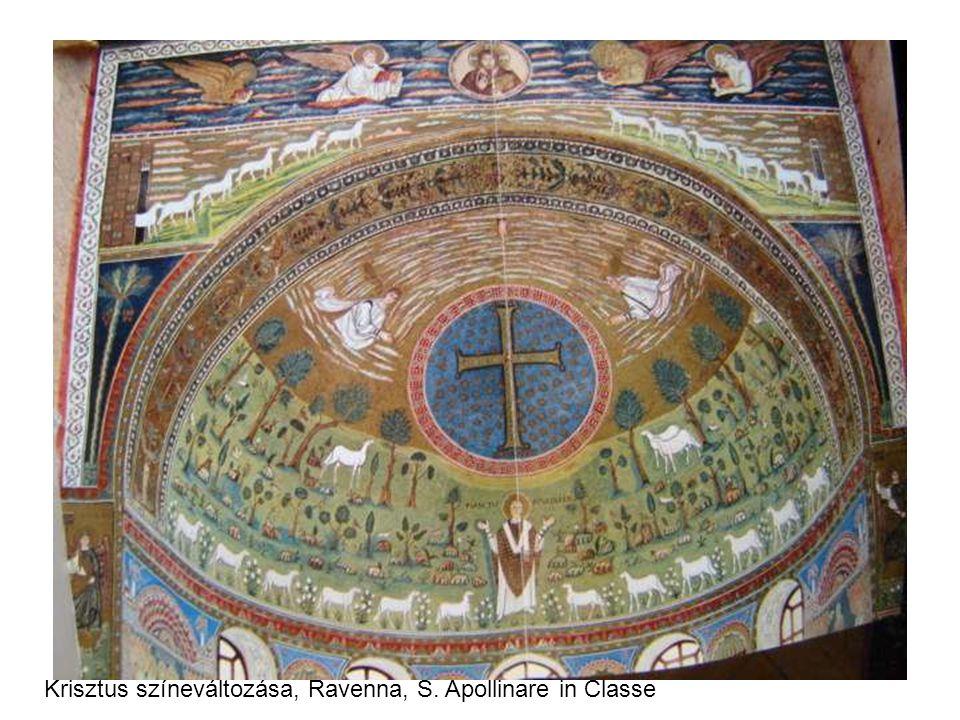 Krisztus színeváltozása, Ravenna, S. Apollinare in Classe
