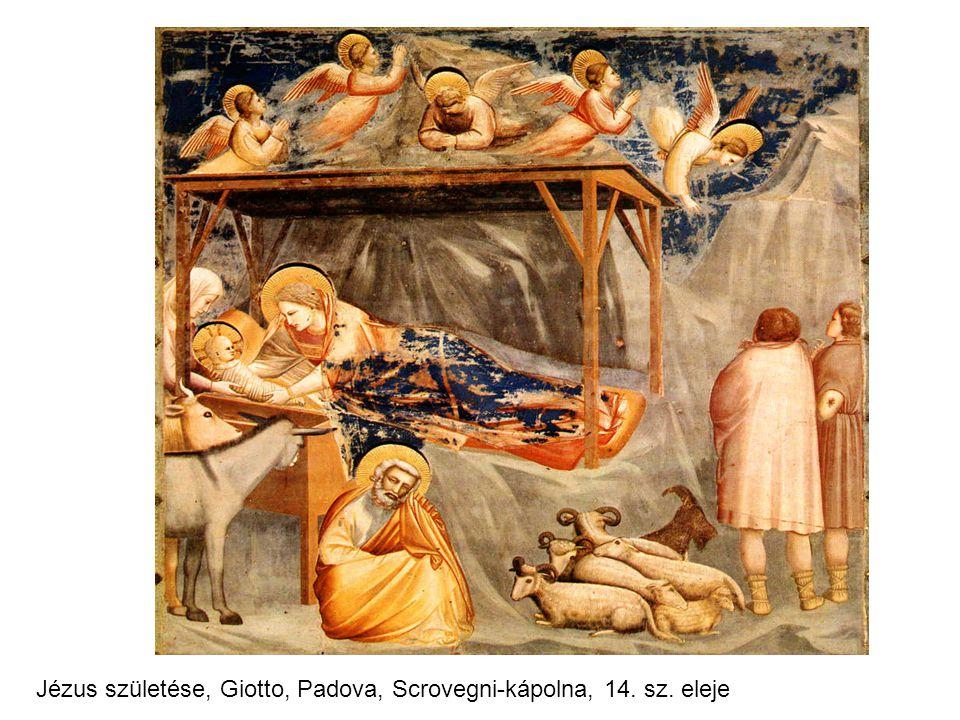 Jézus születése, Giotto, Padova, Scrovegni-kápolna, 14. sz. eleje