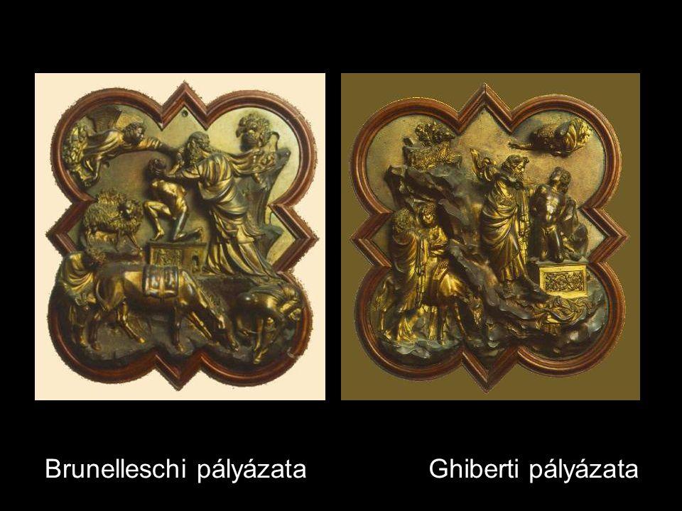 Brunelleschi pályázataGhiberti pályázata