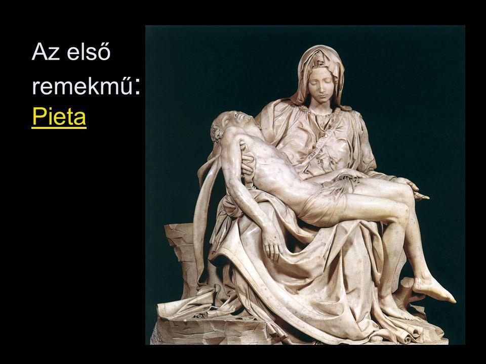Az első remekmű : Pieta