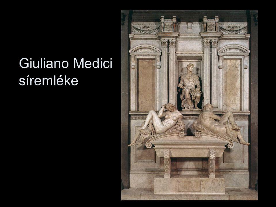 Giuliano Medici síremléke