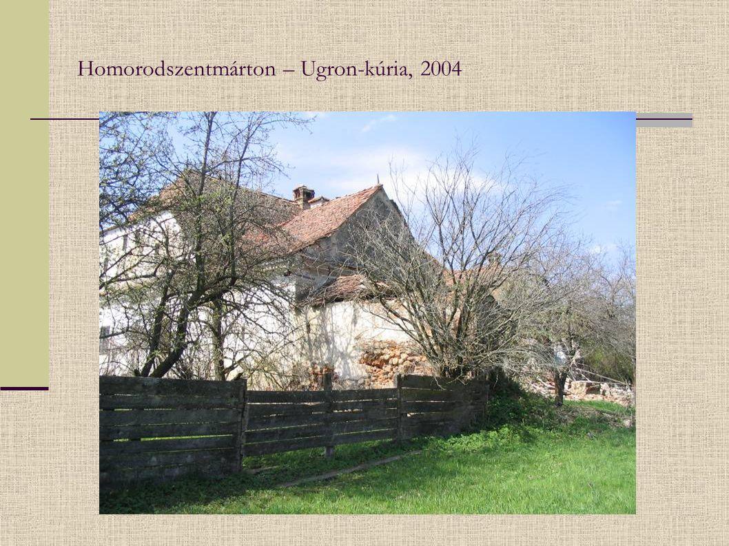 Homorodszentmárton – Ugron-kúria, 2004