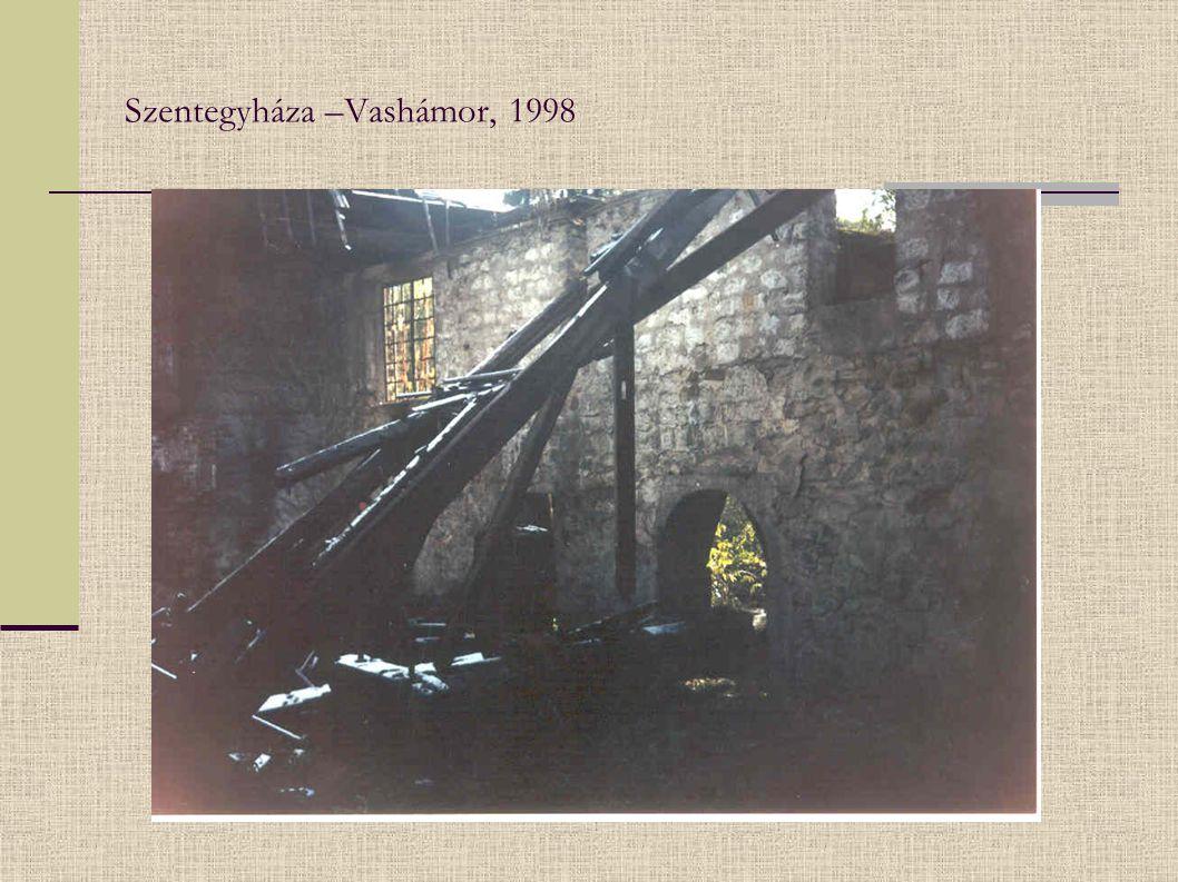 Szentegyháza –Vashámor, 1998